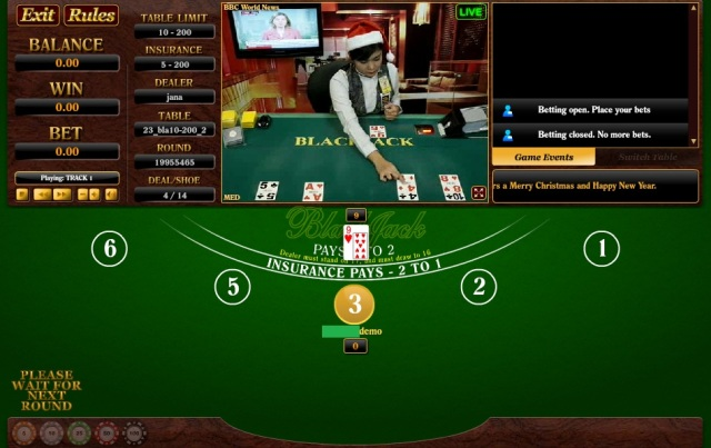 permainan blackjack online